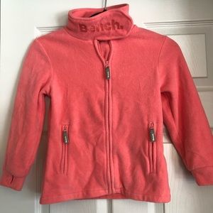 Bench Fleece Zip Up Sweater Youth 9/10